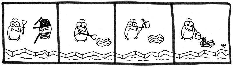 Pinguin Crossing