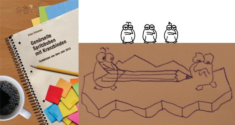 Genürselte Spritzbuben mit Kranzbinden - Die Pinguine Band 3